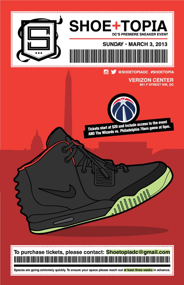 ShoeTopia Sneaker Event in DC on March 3rd!