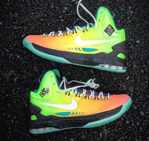 "#Kicks | NIKE KD V ""SURF STYLE"" CUSTOM BY MACHE"