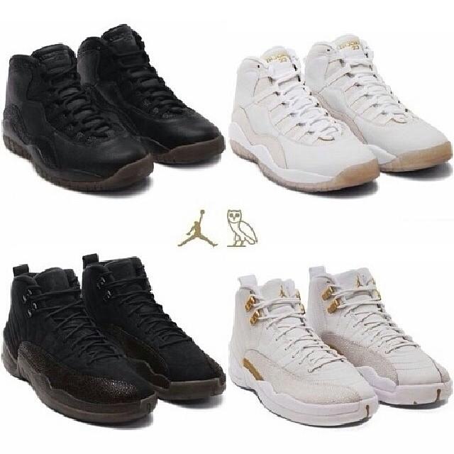 #Kickz | Drake x Jordan collabo. No release date yet ( Photos )
