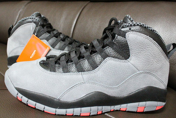 "Detailed Photos of Air Jordan 10 ""Infrared"" ( Drops Jan. 25th )"