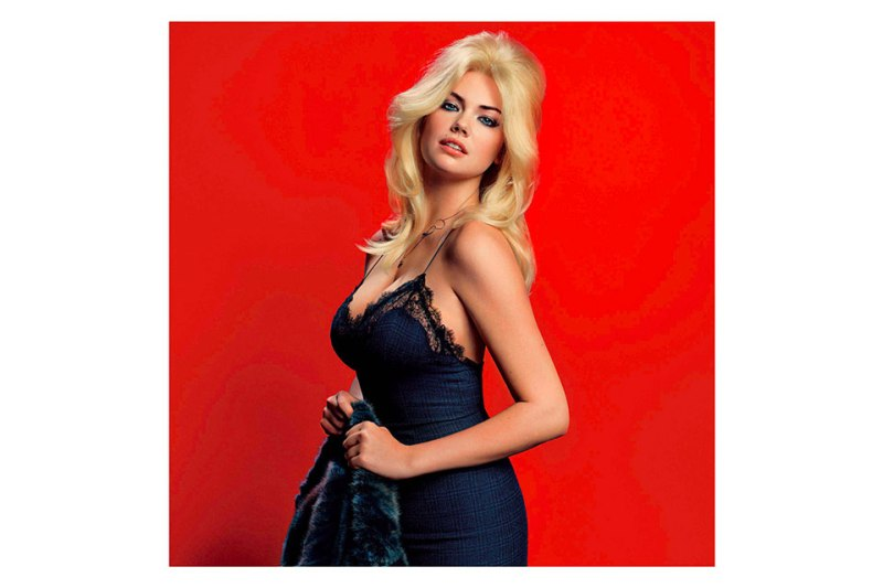 "Kate Upton by Inez & Vinoodh for V Magazine ""The Only Way is Upton"""