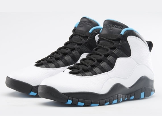 "#Kickz |  Air Jordan 10 ""Powder Blue"" Release Reminder"